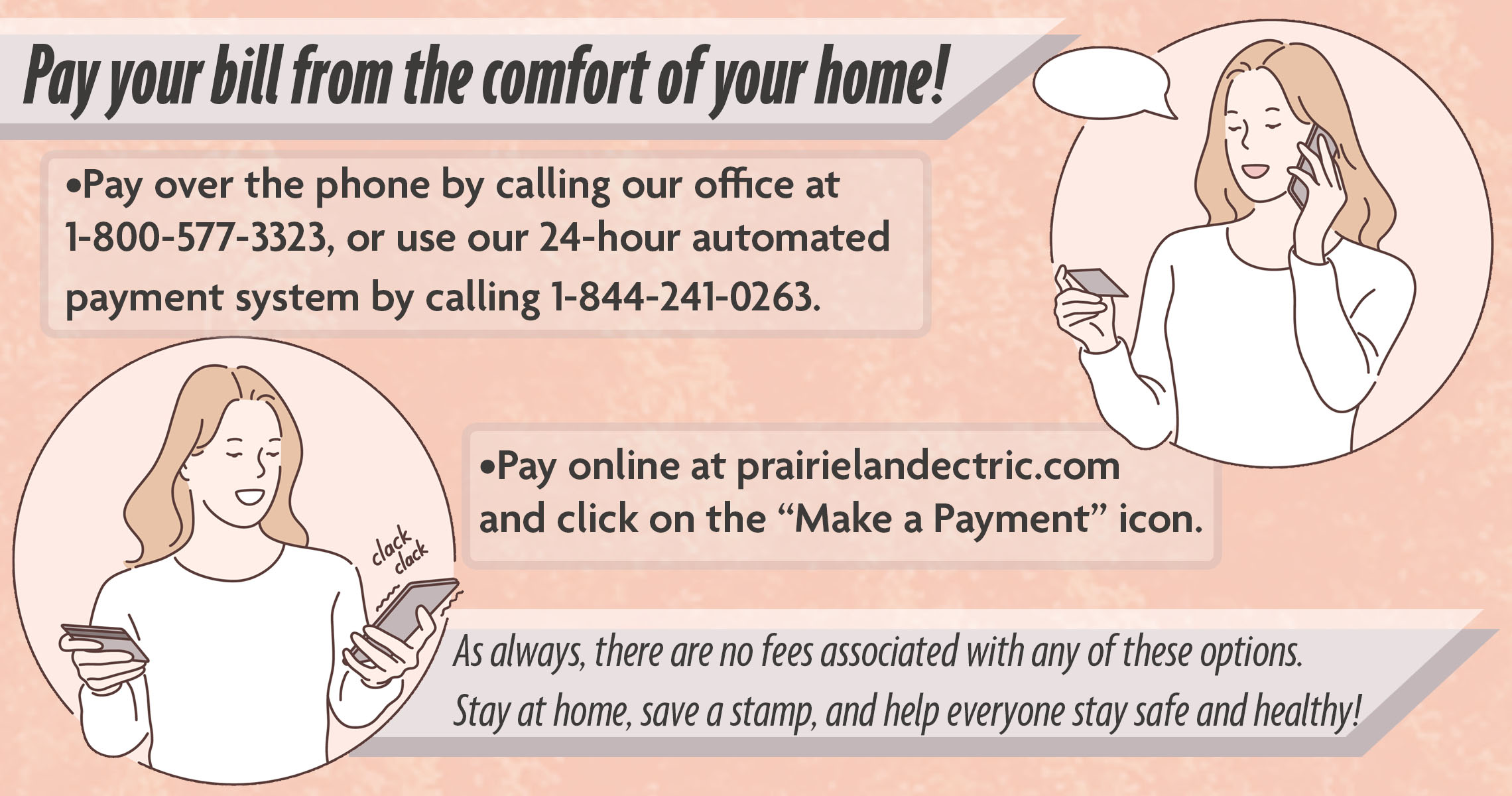 pay from home